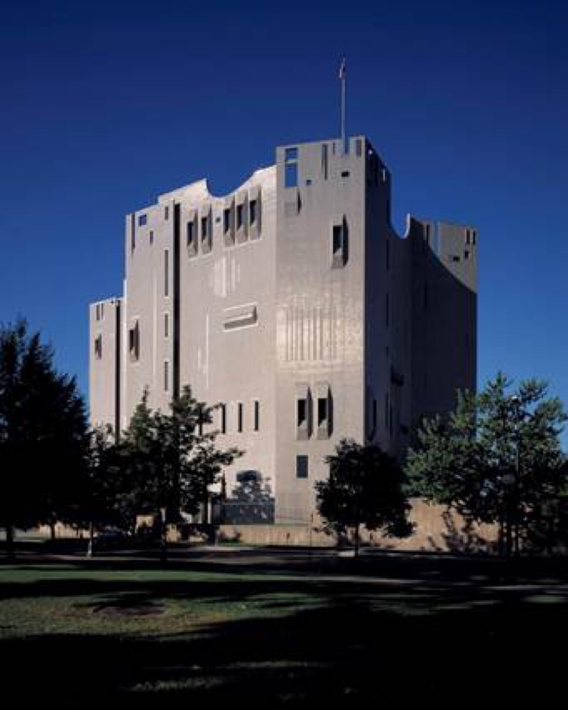 The Denver Art Museum's iconic 1971 North Building, designed by Gio Ponti and James Sudler Architects of Denver. (Courtesy of the Denver Art Museum)