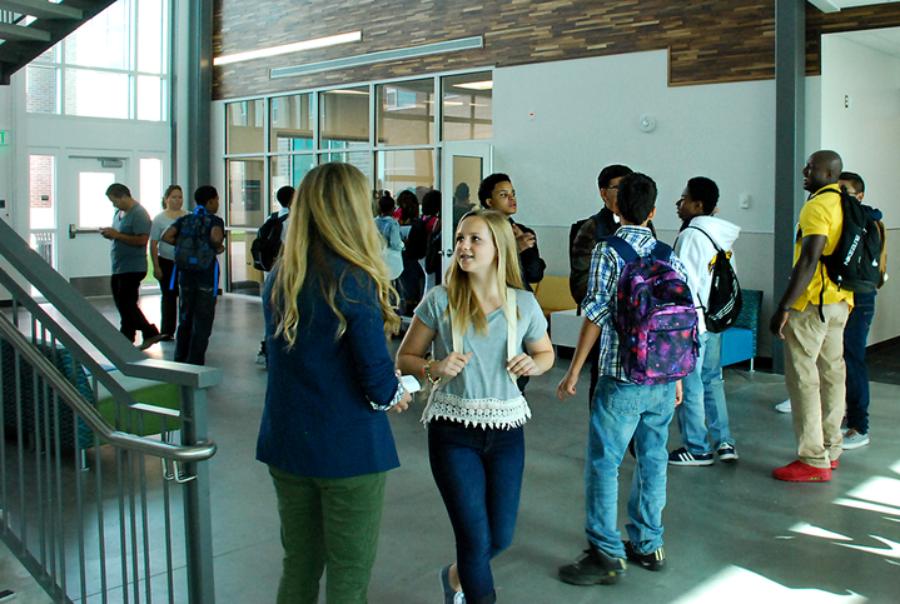Northfield High School opened in fall 2015 with about 200 freshmen. (Ann Schimke/Chalkbeat)