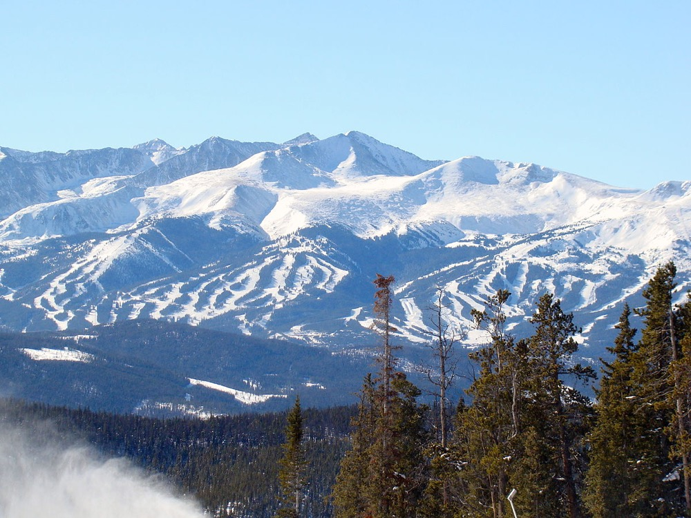 Breckenridge Ski Resort. (Ahodges7/Wikimedia Commons/CC BY-SA 3.0)