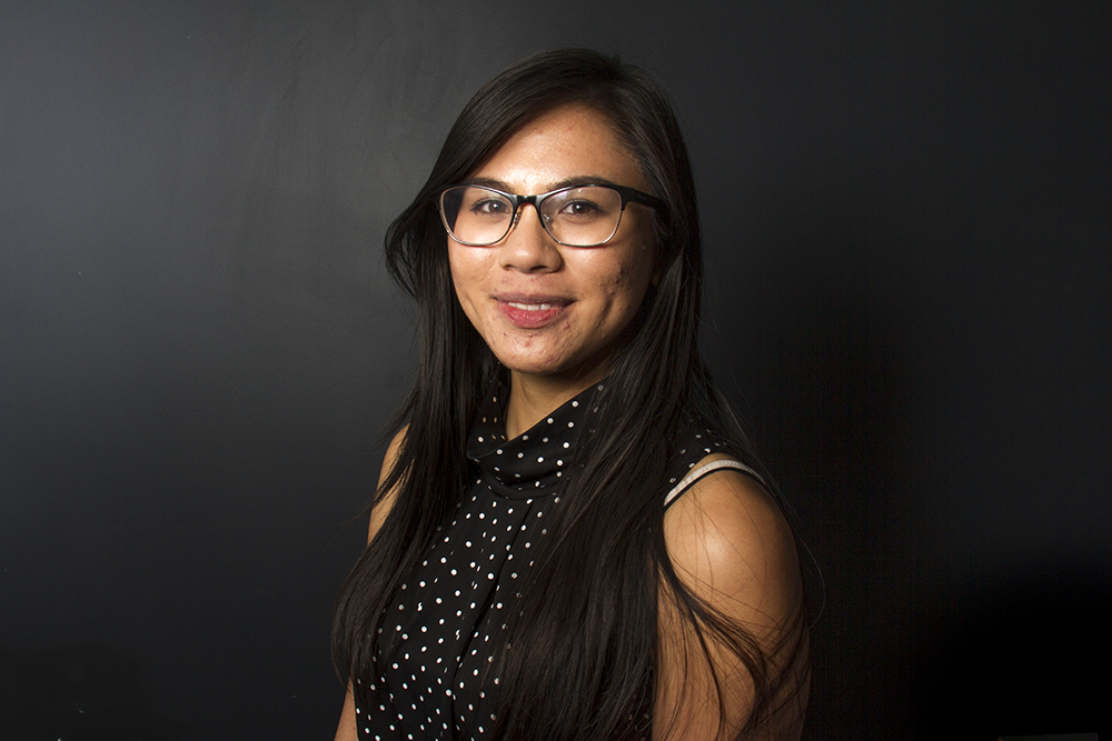 Cheska Mae Perez poses for a portrait. (Kevin J. Beaty/Denverite)  daca; undocumented; kevinjbeaty; denver; denverite; colorado;