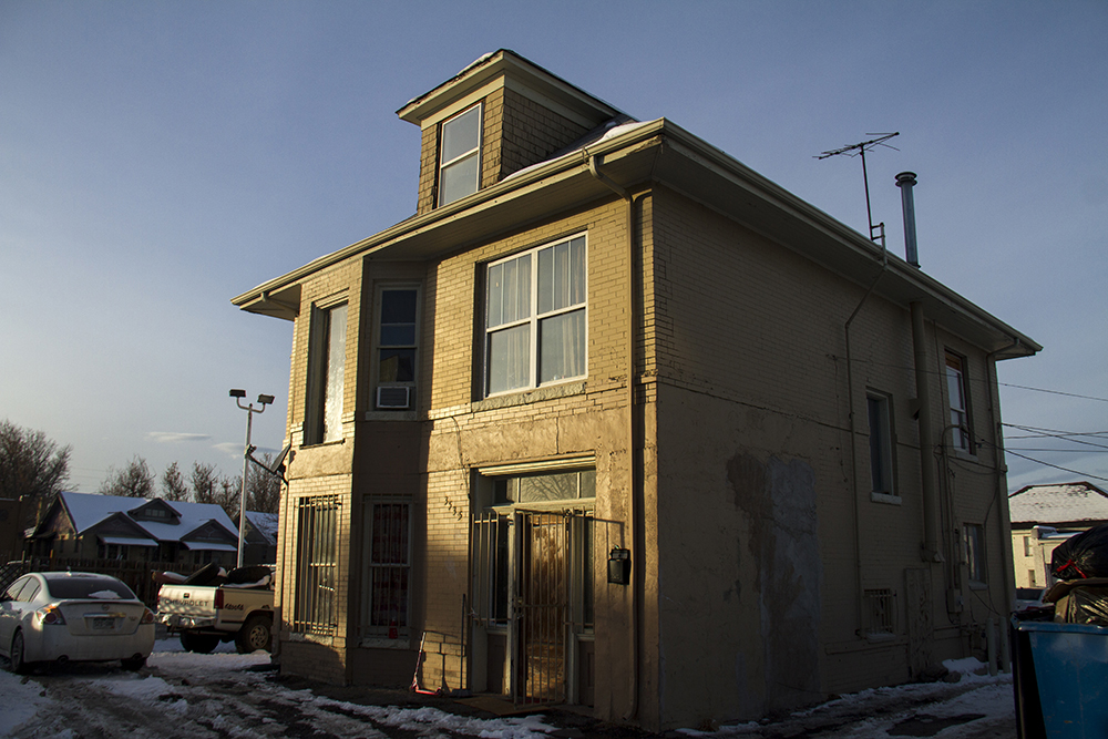 A house on West Colfax Avenue. Jan 9, 2016. (Kevin J. Beaty/Denverite)  residential real estate; house; home; west colfax; business improvement district; kevinjbeaty; denver; denverite; colorado;