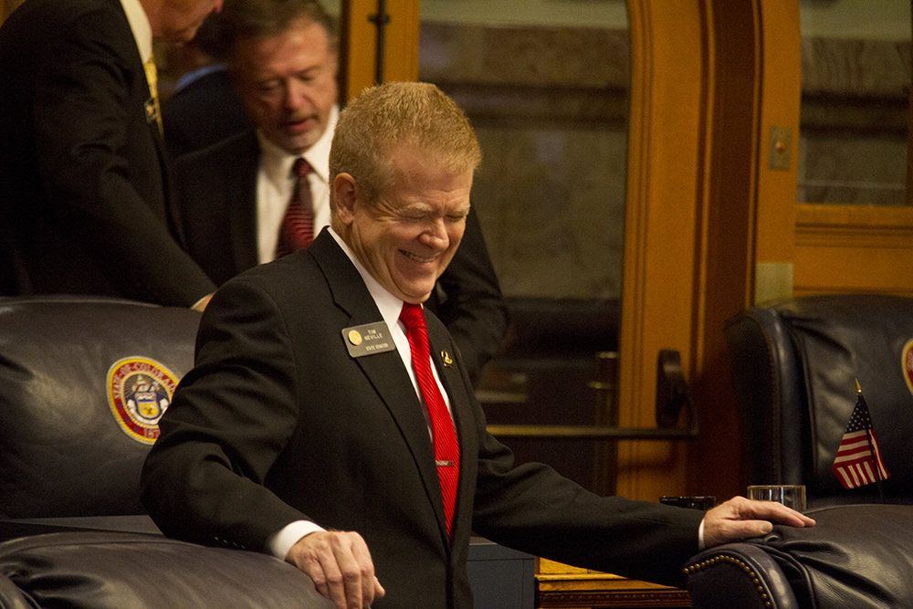 District 16 Senator Tim Neville. The first day of the Colorado state legislative session. Jan 11, 2017. (Kevin J. Beaty/Denverite)