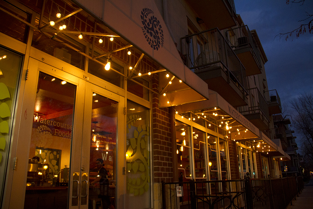 Watercourse Foods on 17th Avenue at Emerson Street. (Kevin J. Beaty/Denverite)  vegetarian; food; restaurant; kevinjbeaty; denver; denverite; colorado;