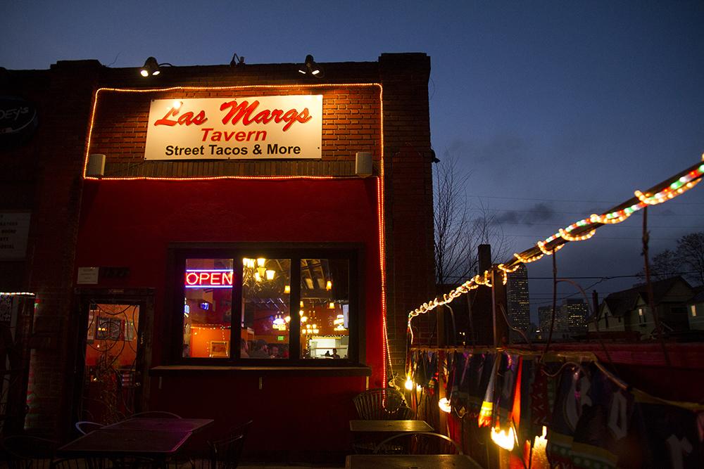 Las Margs on Marion Street near Colfax Avenue. (Kevin J. Beaty/Denverite)  vegetarian; food; restaurant; kevinjbeaty; denver; denverite; colorado;