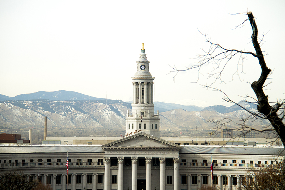 Nice looks seen from the Colorado State Capitol. (Kevin J. Beaty/Denverite)  colorado; denver; mountains; skyline; kevinjbeaty;