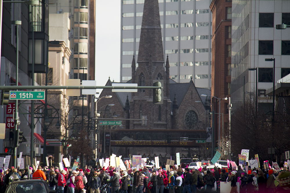 The Women's March on Denver. Jan. 21, 2017. (Kevin J. Beaty/Denverite)