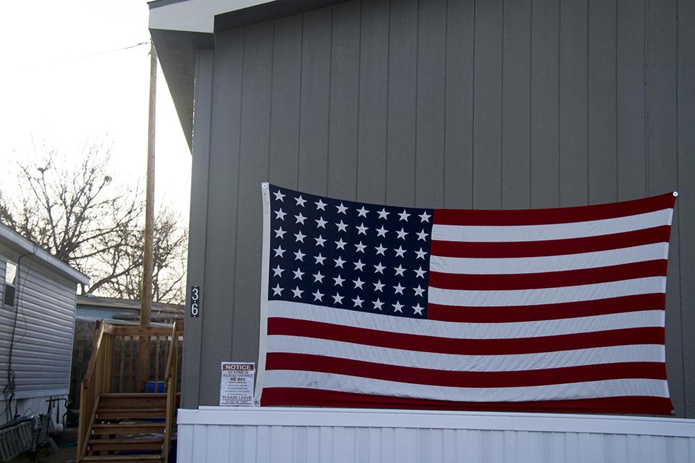 Pioneer Village Mobile Home Park. Jan. 22, 2017. (Kevin J. Beaty/Denverite)  trailer park; sharon whitehair; kevinjbeaty; denver; colorado; denverite