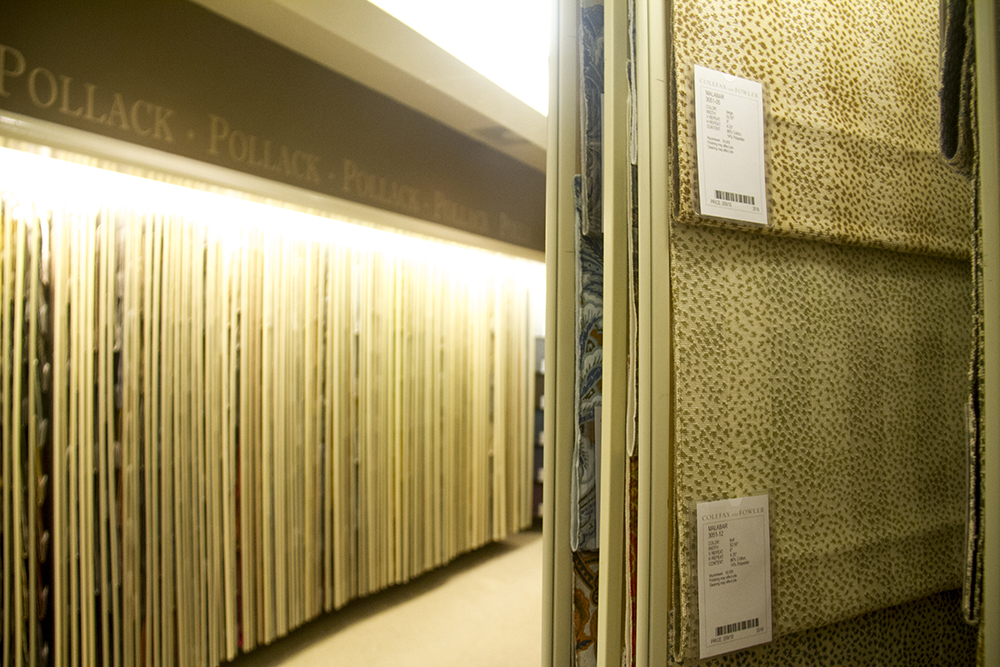 The Denver Design District's various wares. (Kevin J. Beaty/Denverite)wholesale; furniture; interior design; herbert bayer; public art; articulated wall; denver design district; denver; denverite; kevinjbeaty; colorado;