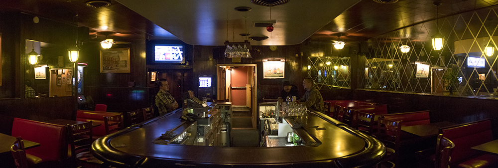 The Nob Hill Inn on Colfac Avenue. (Kevin J. Beaty/Denverite)  historic; history; bars; nightlife; drinking; kevinjbeaty; denverite; colorado; denver; food;