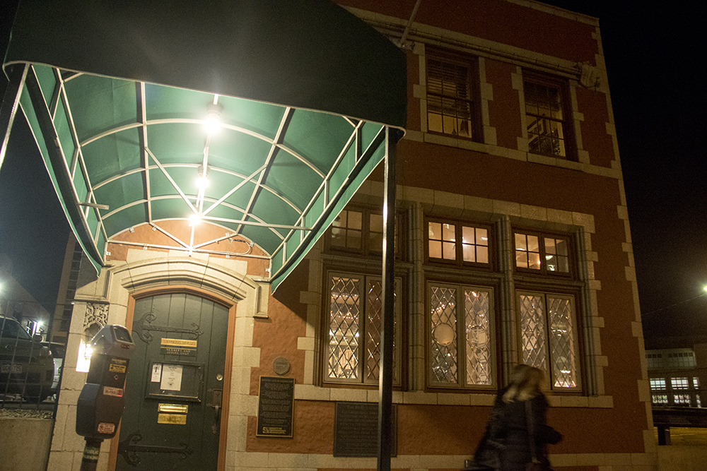 The historic Denver Press Club. (Kevin J. Beaty/Denverite)  historic; history; bars; nightlife; drinking; kevinjbeaty; denverite; colorado; denver; food;