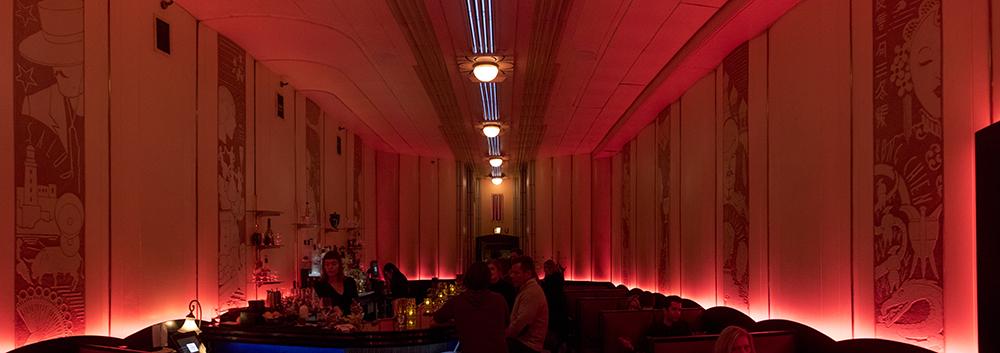 The Cruise Room inside the Oxford Hotel. (Kevin J. Beaty/Denverite)  historic; history; bars; nightlife; drinking; kevinjbeaty; denverite; colorado; denver; food;