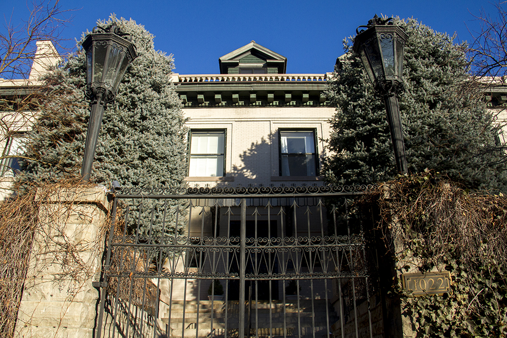 Stoiberhof, the historic mansion at 1022 Humboldt Street. (Kevin J. Beaty/Denverite)  denver; historic; residential real estate; mansion; kevinjbeaty; denverite; colorado;