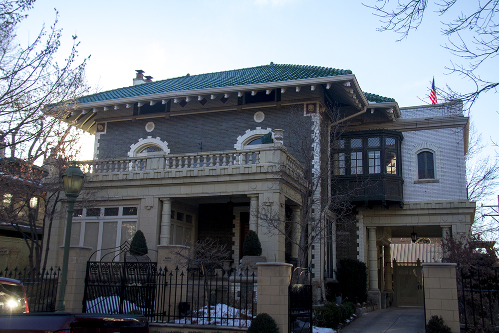 The Tammen House at 1061 Humboldt. (Kevin J. Beaty/Denverite)  denver; historic; residential real estate; mansion; kevinjbeaty; denverite; colorado;