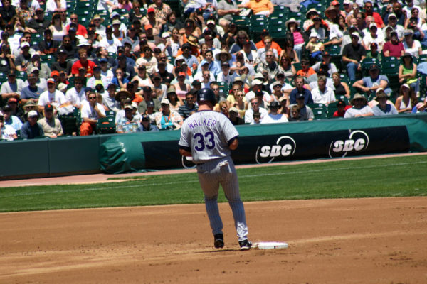 It doesn't look like Larry Walker is going to make into the Hall of Fame in 2017. (Anna Rouse/Flickr)