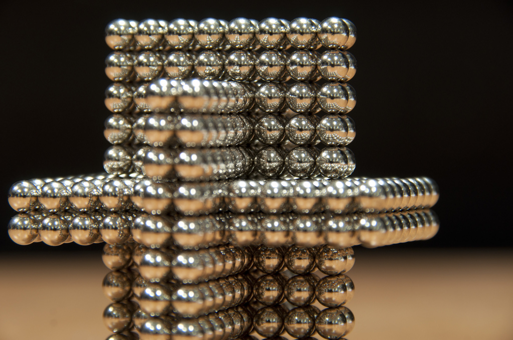 A whole lot of fuss for these little magnets.(Icosahedron Generator/Flickr)