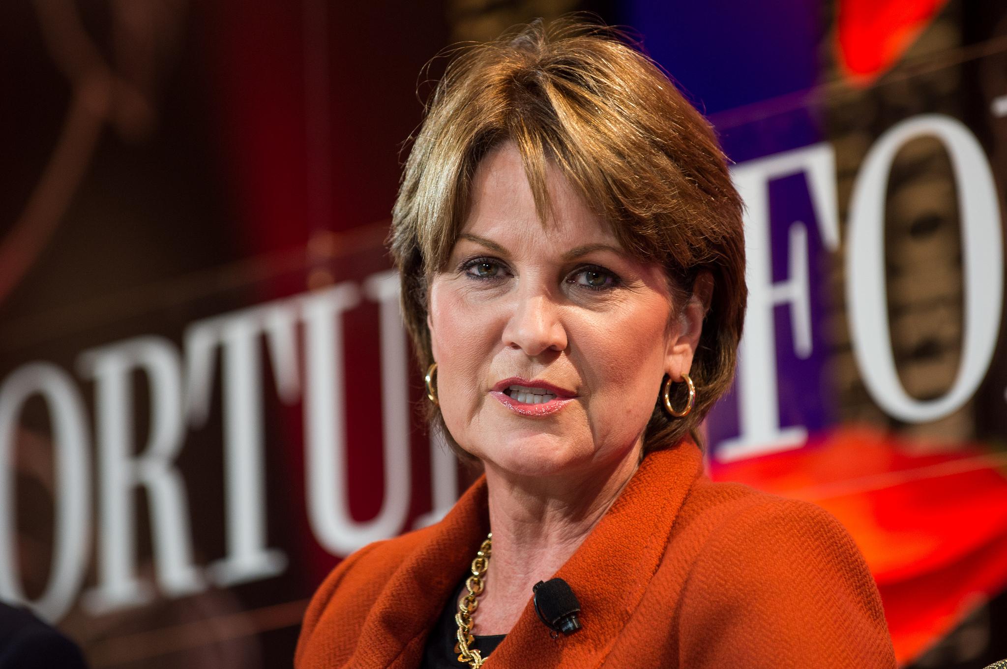 Marillyn Hewson, CEO of Lockheed Martin. (Stuart Isett/Fortune Most Powerful Women Summit)