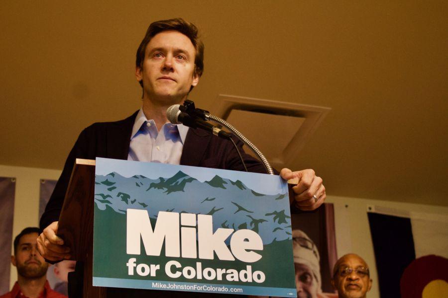 Former State Sen. Michael Johnston announced his gubernatorial campaign. (Nicholas Garcia/Chalkbeat)