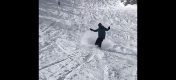 Albus Brooks returns to the slopes. (Albus Brooks)