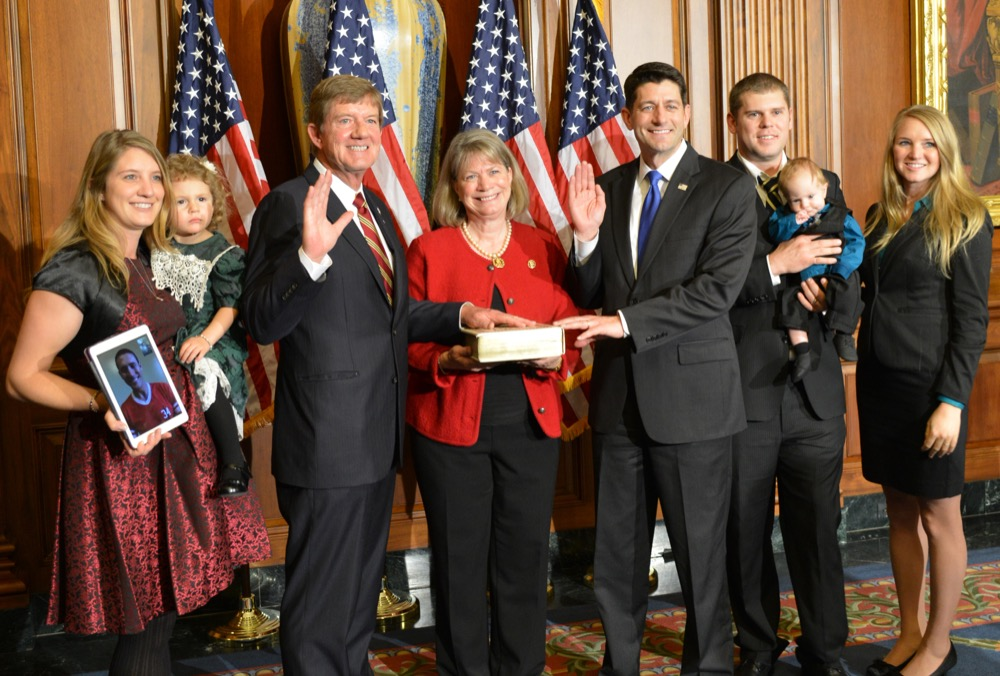 Scott Tipton is sworn in for his fourth term representing western Colorado in the U.S. House of Representatives. (U.S. House)