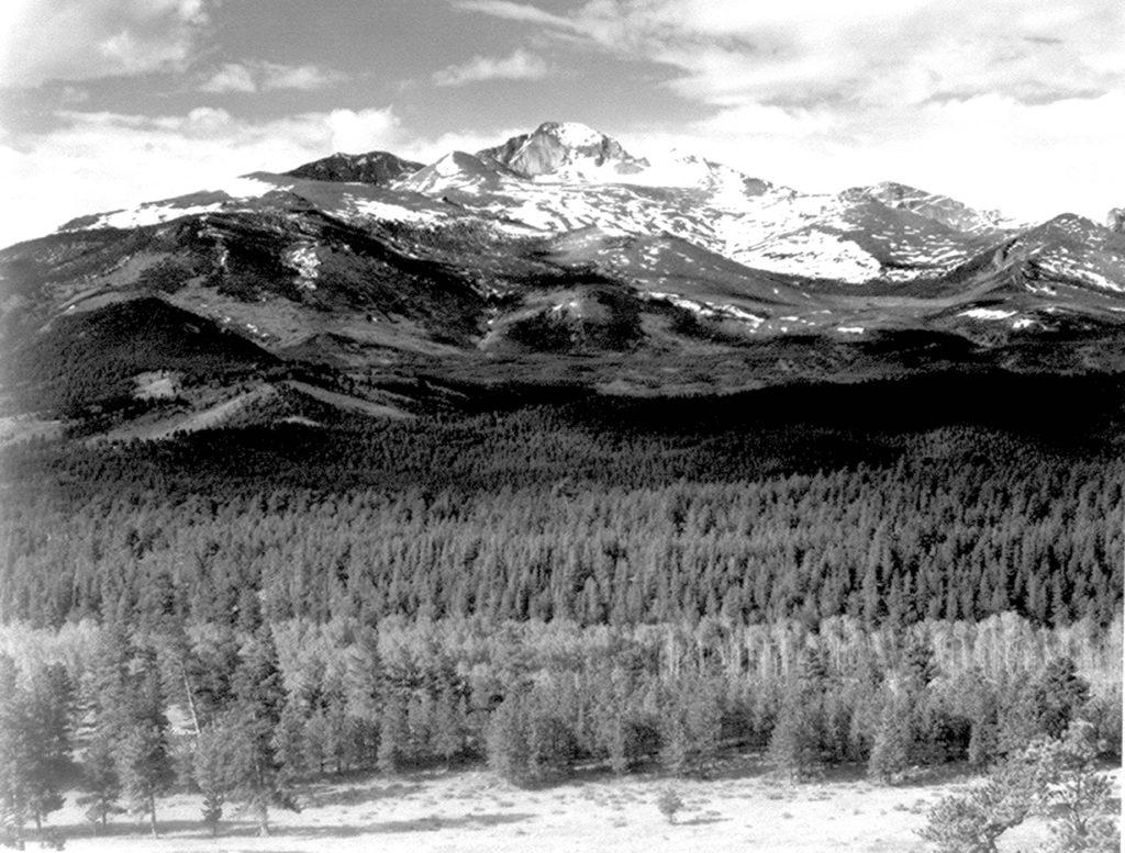 Longs Peak. (Ansel Adams)