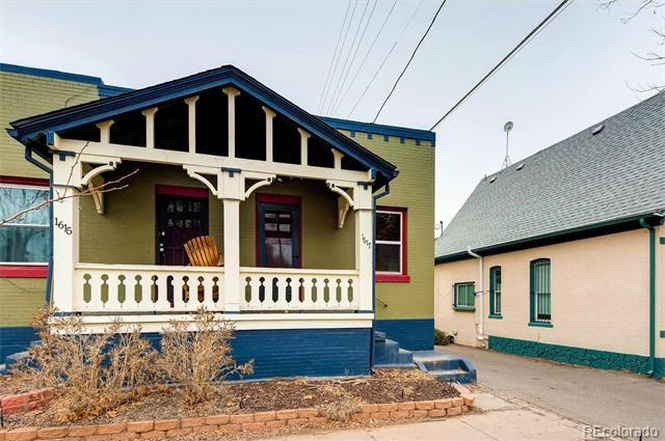 The exterior of 1617 East 23rd Avenue. (Courtesy of Redfin)