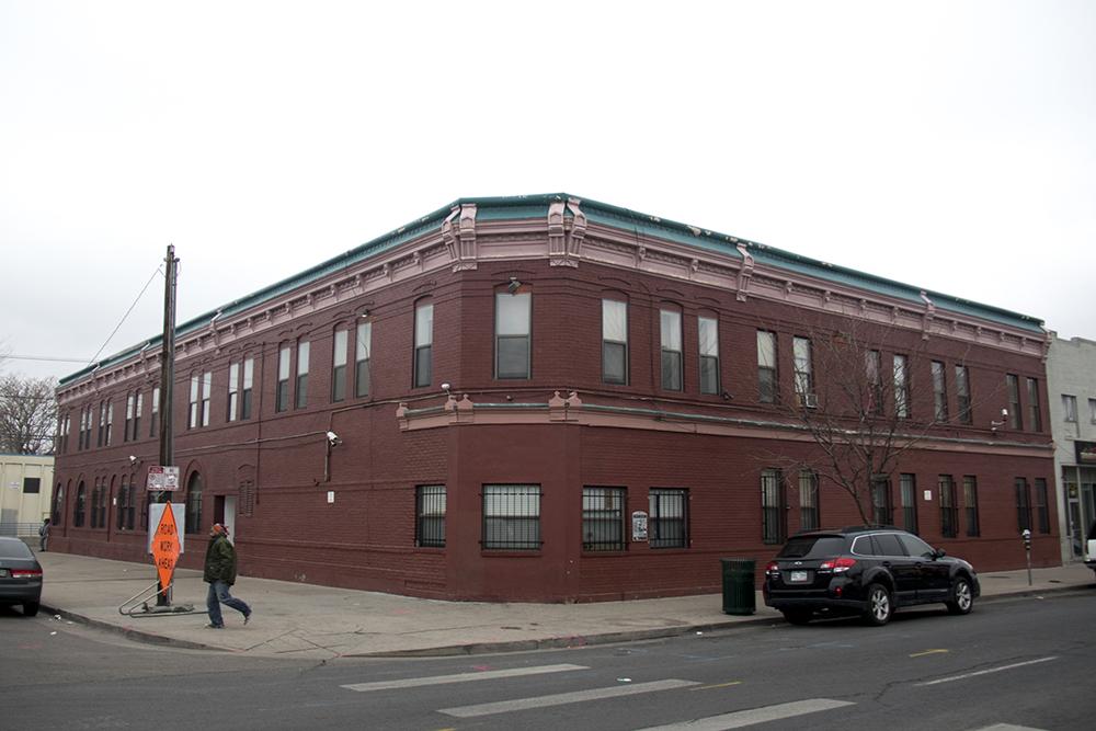 605 26th St., former home of the Radio Drug Store. (Kevin J. Beaty/Denverite)  five points; welton street; green book; denver; colorado; denverite; kevinjbeaty;