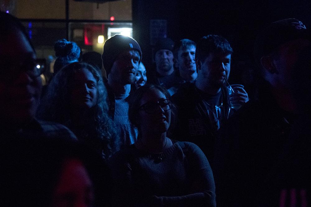Test Kitchen at Black Box, Feb. 8, 2017. (Kevin J. Beaty/Denverite)  black box; capitol hill; music; hip hop; rap; club; nightlife; test kitchen; kevinjbeaty; denver; denverite; colorado;