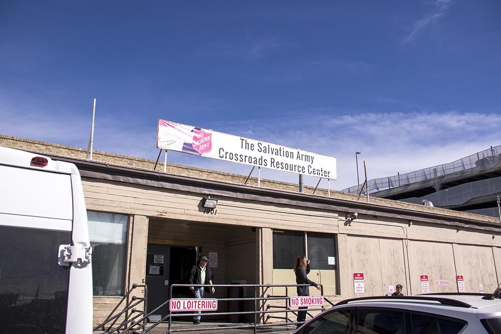 The Salvation Army Crossroads Resource Center. (Kevin J. Beaty/Denverite)  crossroads; salvation army; homeless shelter; kevinjbeaty; rino; five points; denver; denverite; colorado;