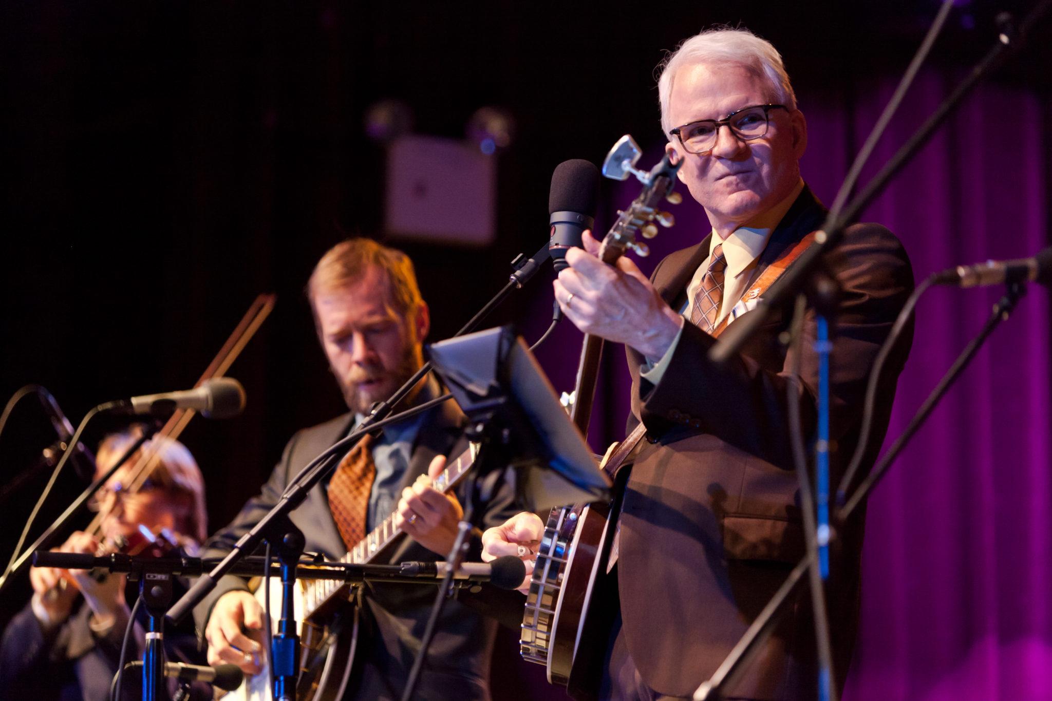 Steve Martin performs at the Highline Ballroom in New York City on March 14, 2011. (Jens Schott Knudsen/Flicker)