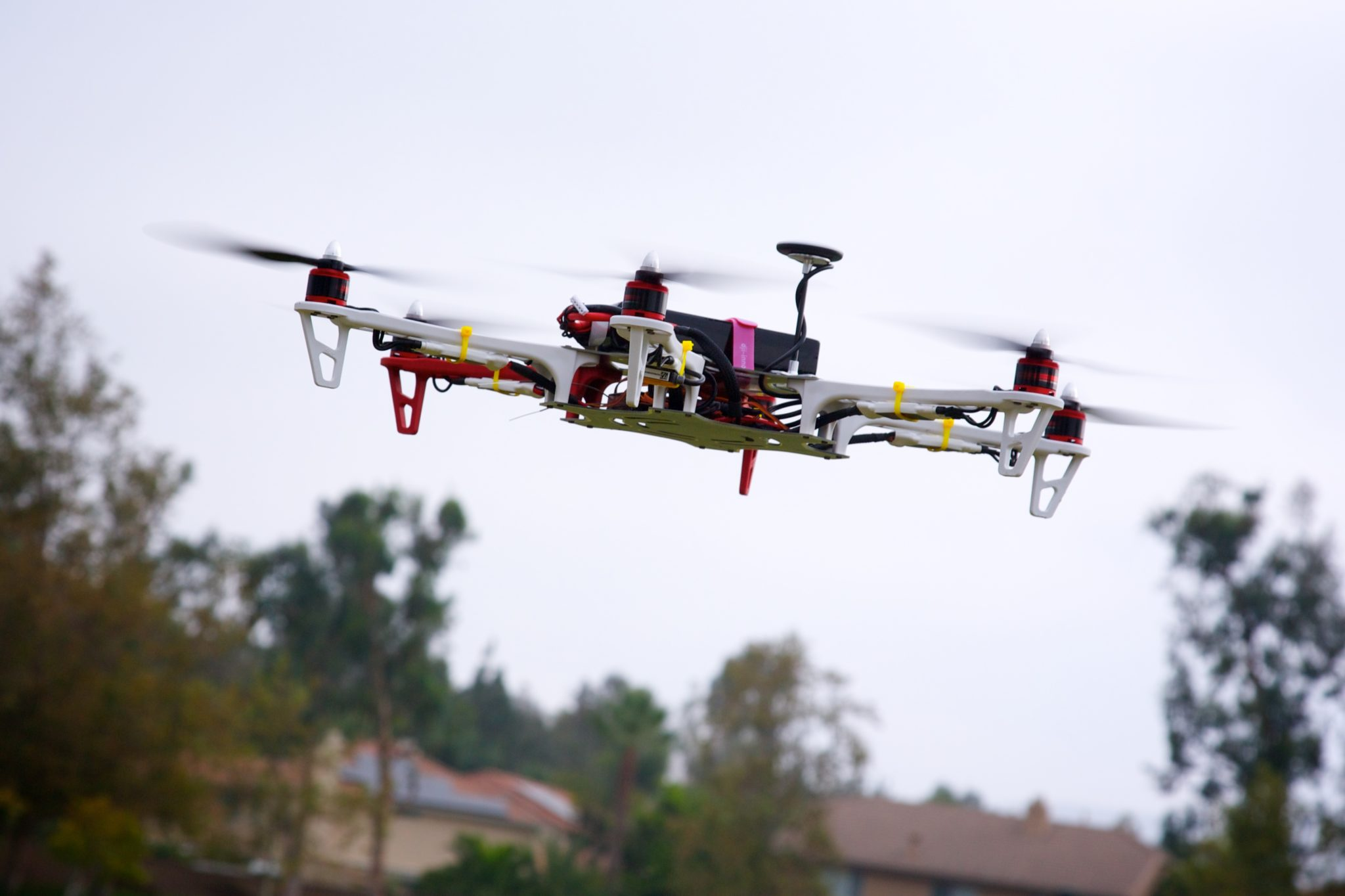 This is a drone or unmanned aerial vehicle if you want to get technical. (Richard Unten/Flickr)