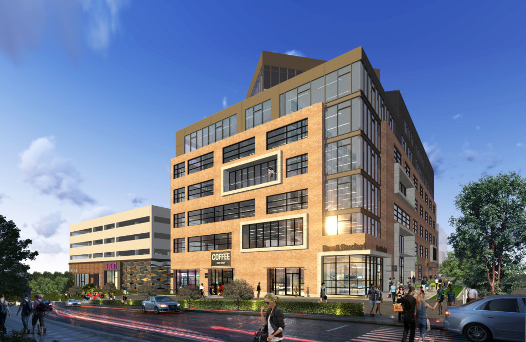 An artist's rendering of Catalyst HTI, coming to River North. (Courtesy of VOCA PR)