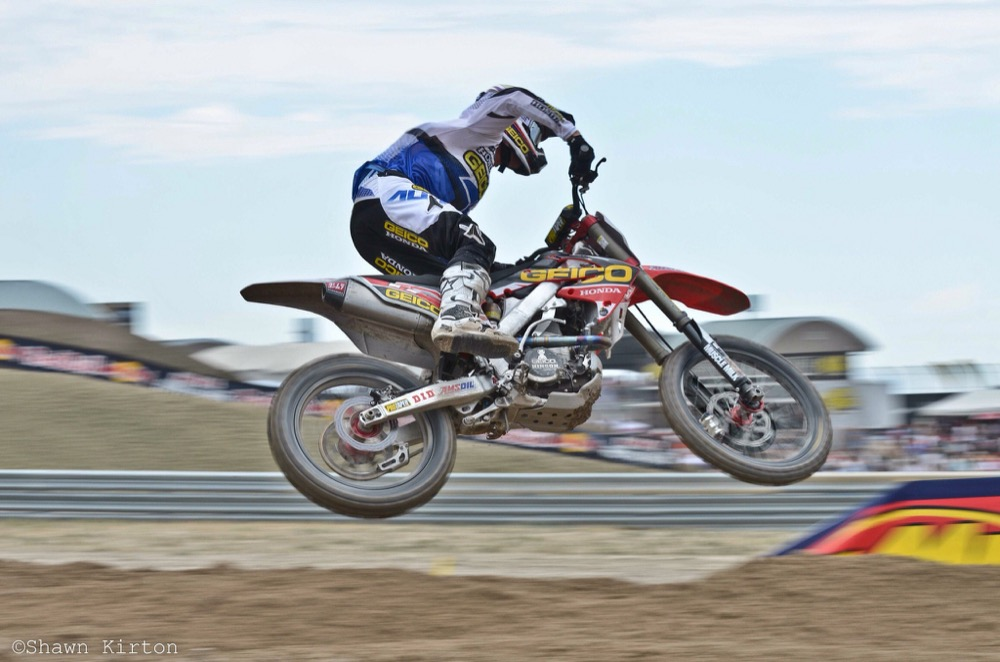 Eli Tomac in 2013 at the Lucas Oil Pro Motocross in Tooele, Utah. (Shawn Kirton/Flickr via CC 2.0)