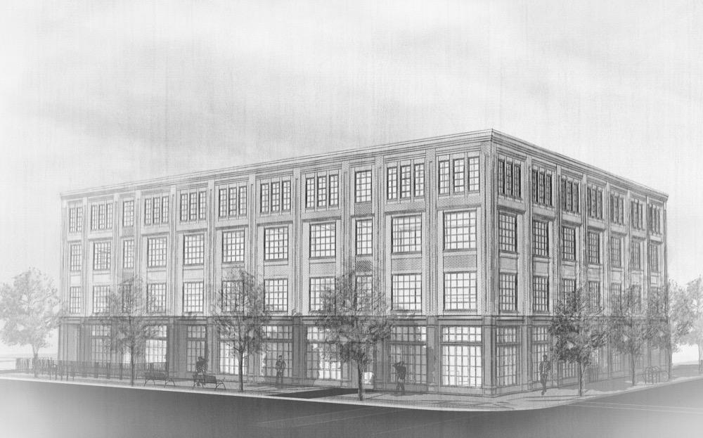 An illustration of The Ramble Hotel. (Courtesy Gravitas Development Group)