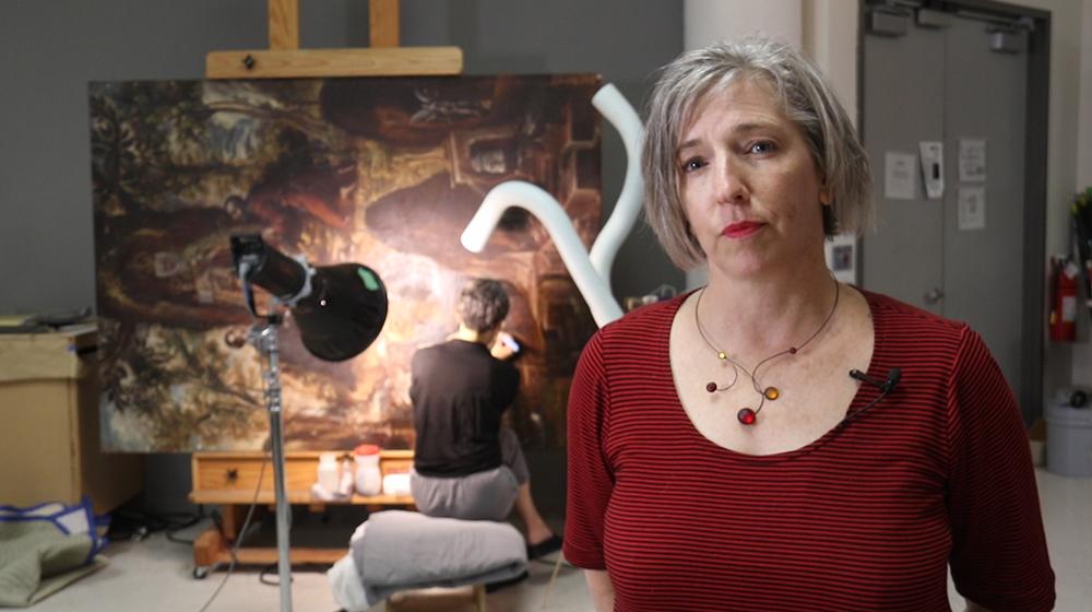 Sarah Melching, Silber Director of Conservation at the Denver Art Museum. (Kevin J. Beaty/Denverite)
