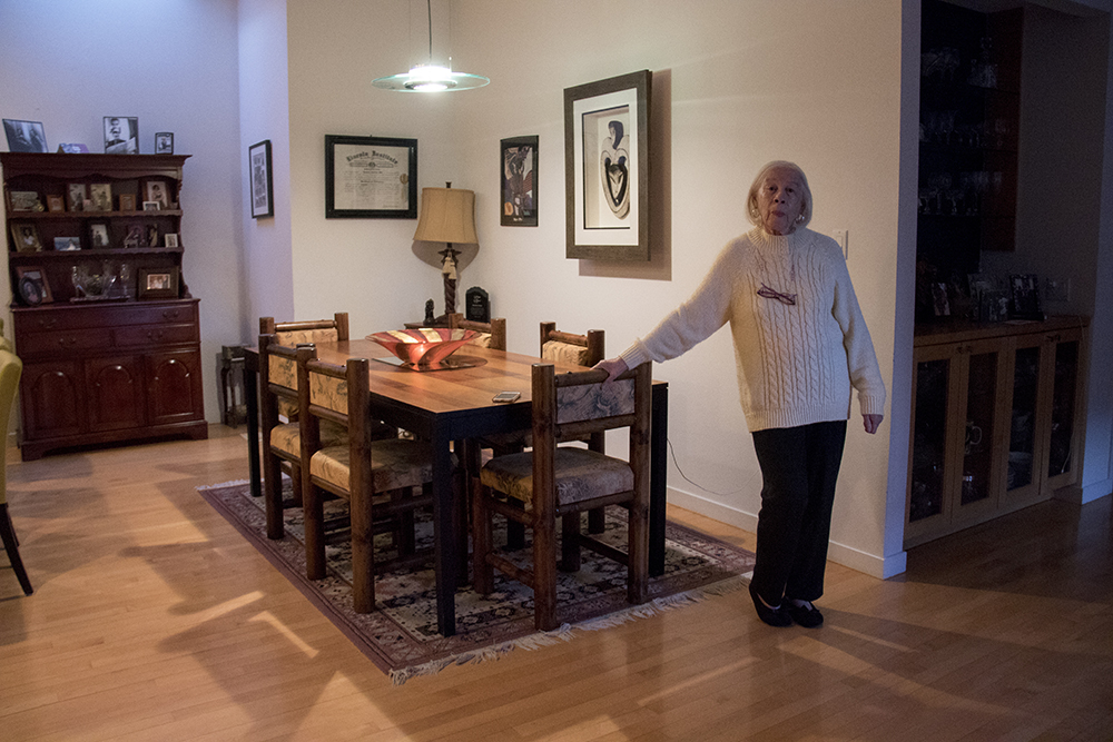 Nancelia Jackson in her Cherry Creek home. (Kevin J. Beaty/Denverite)  denver; cherry creek history; kevinjbeaty; denver; denverite; colorado