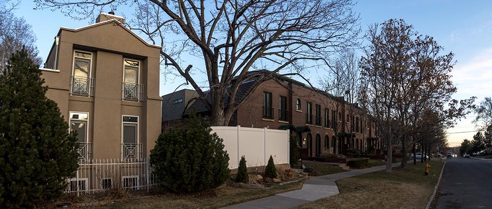 Nancelia Jackson's home on Garfield Street in Cherry Creek. (Kevin J. Beaty/Denverite)  denver; cherry creek history; kevinjbeaty; denver; denverite; colorado; residential real estate; homes;