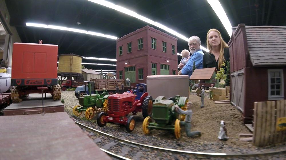 The Rocky Mountain Toy Train Show, Mar. 4, 2017. (Kevin J. Beaty/Denverite)  hobby; toy train; model train; toys; kevinjbeaty; denver mart; rocky mountain toy train show; colorado; denver; denverite;