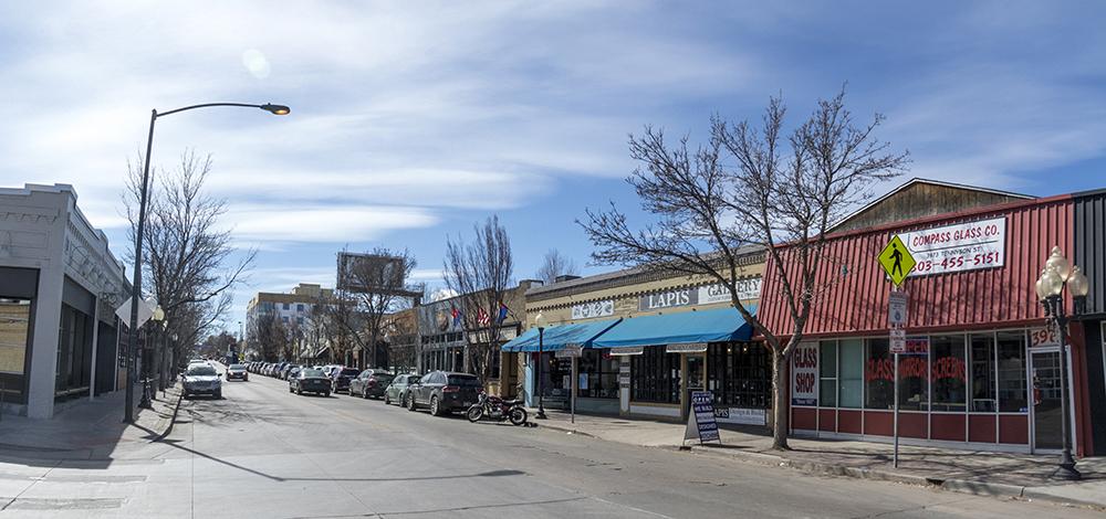 Shops on Tennyson Street in Berkeley. (Kevin J. Beaty/Denverite)