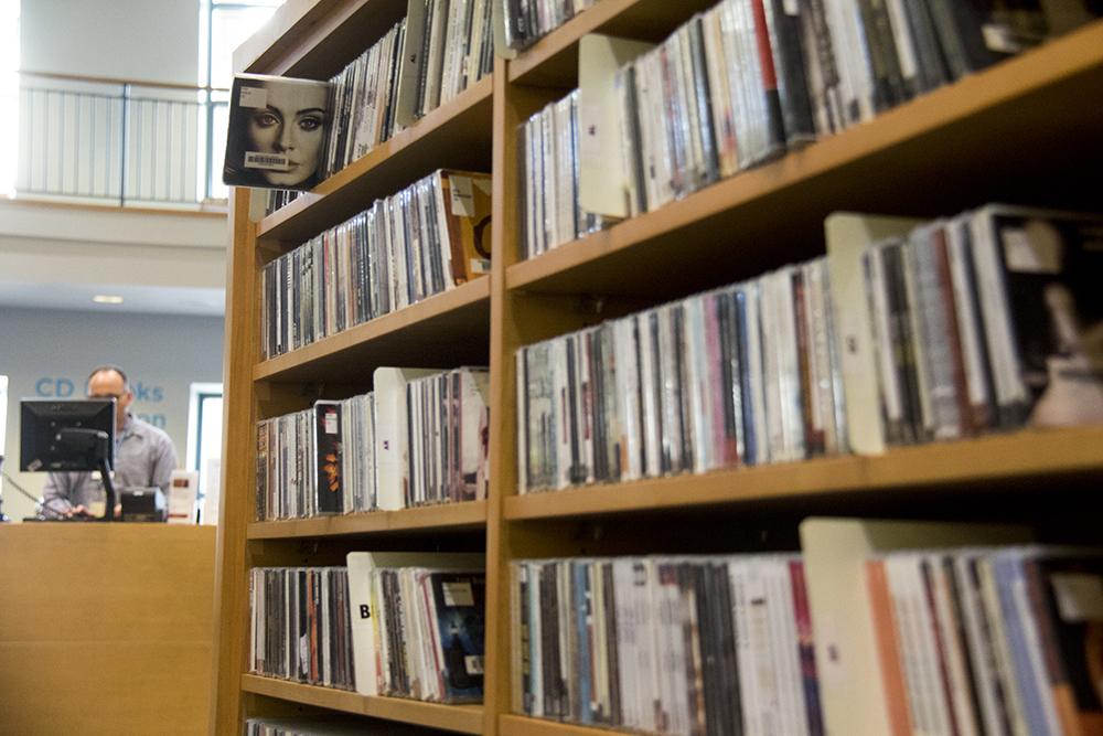 Hello. The Denver Public Library. (Kevin J. Beaty/Denverite)  denver; colorado; kevinjbeaty; denverite; dplbroadway; library building; denver public library; books;