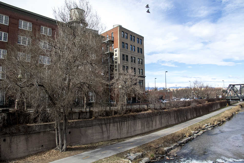 14th and Wazee Streets. LoDo. (Kevin J. Beaty/Denverite)  lodo; downtown; denver; colorado; kevinjbeaty; denverite; weather; cowx; sunny;
