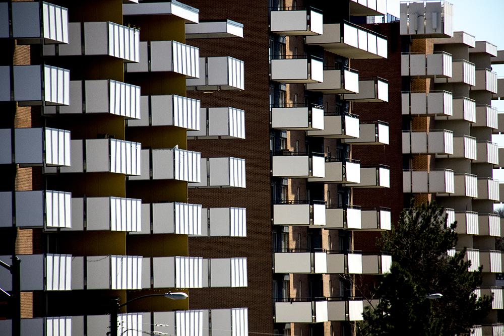 Apartments dear the University of Denver. (Kevin J. Beaty/Denverite)
