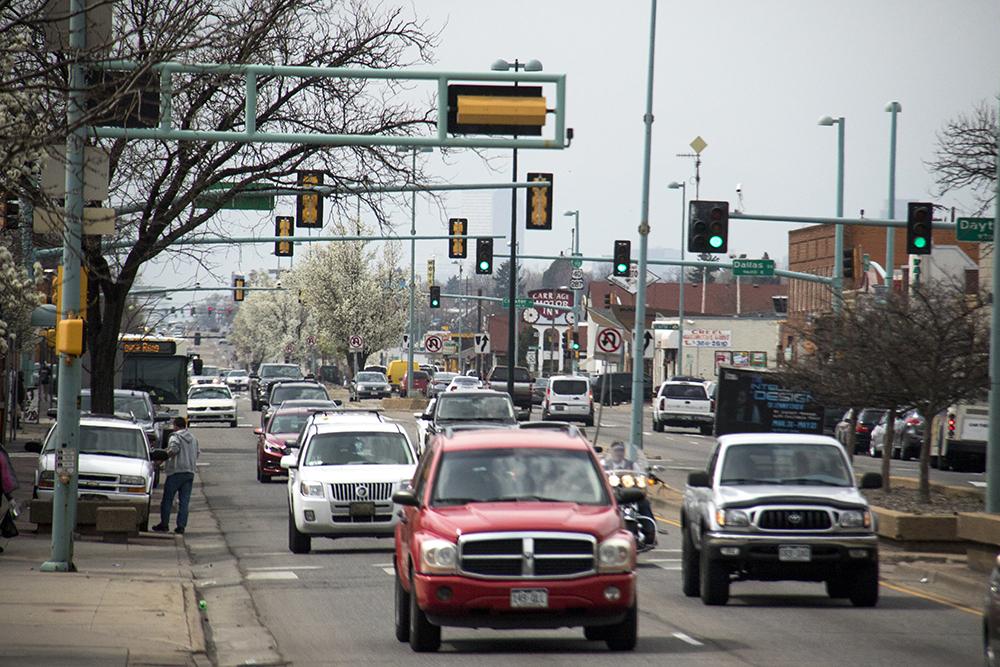 Colfax Avenue in Aurora. (Kevin J. Beaty/Denverite)  aurora; colorado; kevinjbeaty; denverite; colfax;