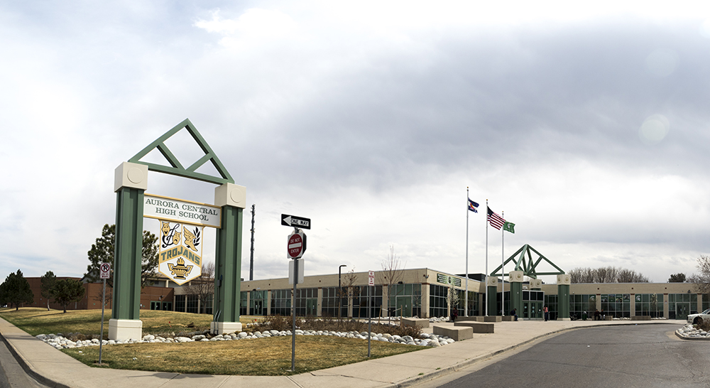 Aurora Central High School. (Kevin J. Beaty/Denverite)