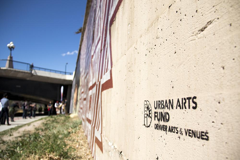 Denver Urban Arts Fund. Cherry Creek Trail, March 23, 2017. (Kevin J. Beaty/Denverite)