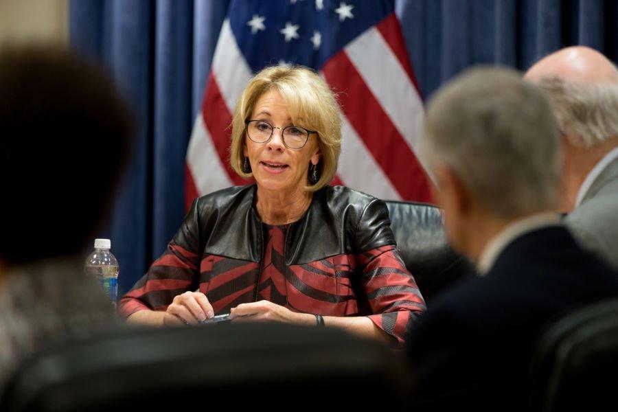 U.S. Education Secretary Betsy DeVos. (Photo: Department of Education)