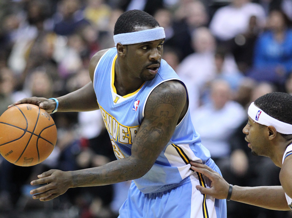 Washington Wizards v/s Denver Nuggets January 25, 2011