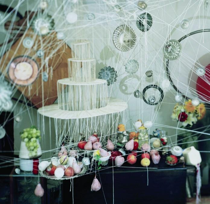 """Greg Amanti. """"Wedding Cake"""" at RedLine."""