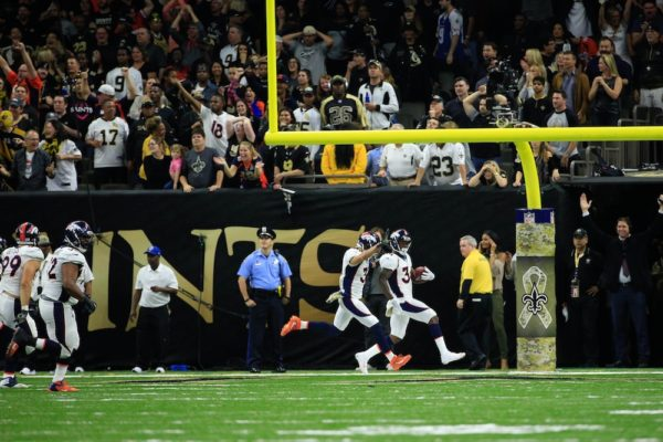 Will Parks' scoop and score helped the Broncos beat the Saints in Week 10. (Derick E. Hingle/USA Today Sports)