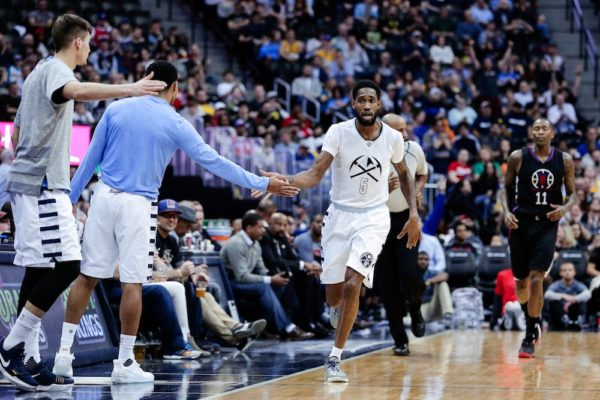 Will Barton scored a career-high 35 in Denver's win Thursday. (Isiah J. Downing/USA Today Sports)
