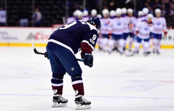 Matt Duchene and the Avs had another rough week. (Ron Chenoy/USA Today Sports)